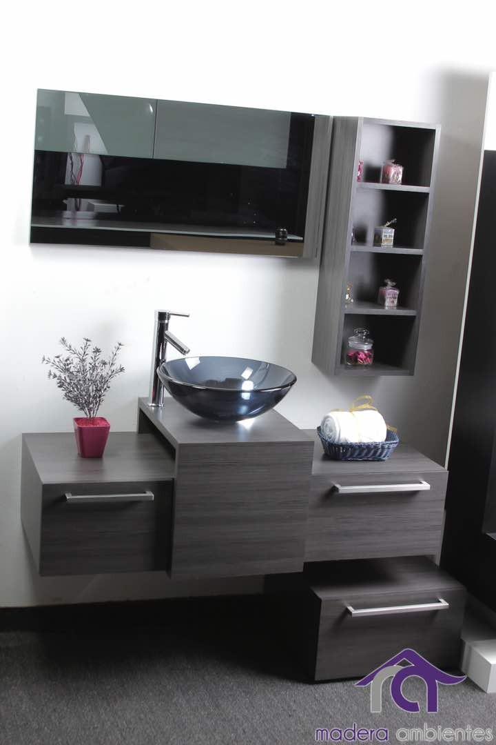 Mueble De Baño Moderno Laminado Italiano A Precio De Costo!! - Bs ...