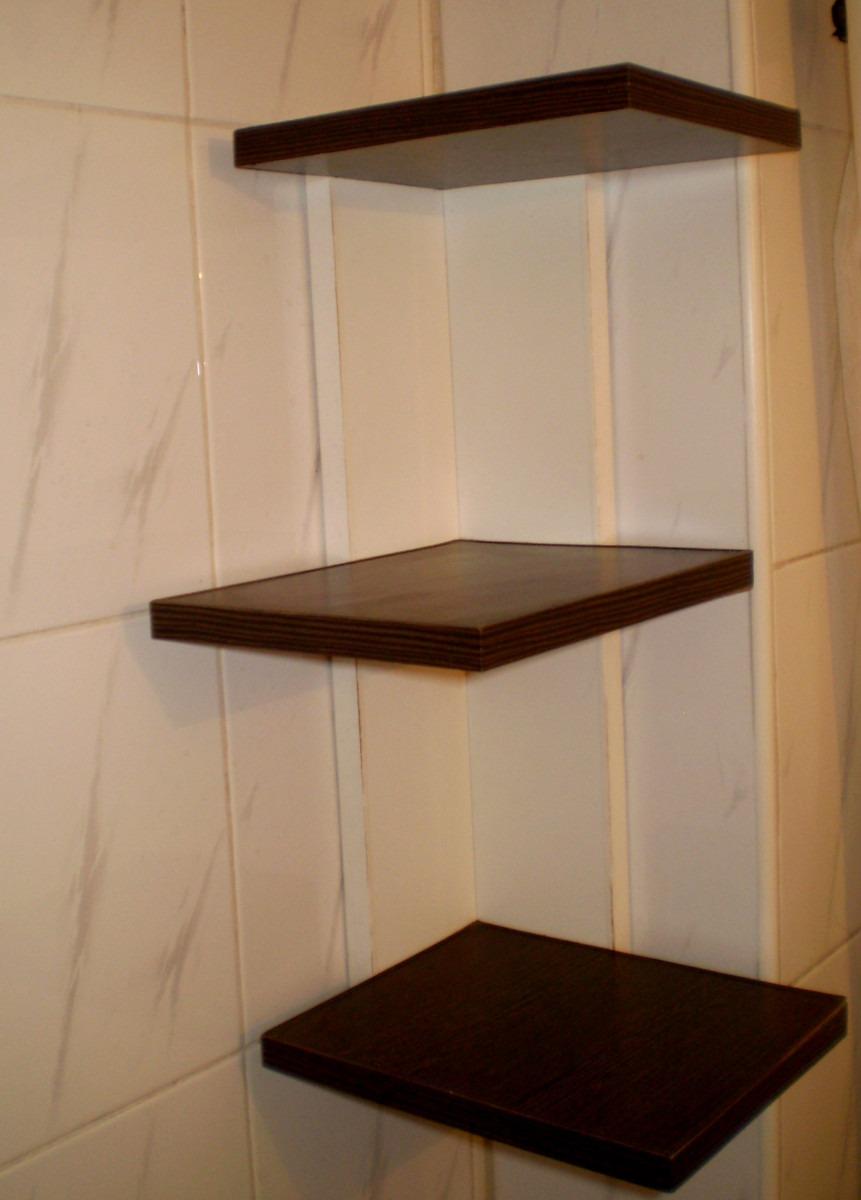 Mueble De Ba O Organizador Vanitory Toallero En Melamina 385  # Muebles Melamina Rosario