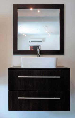 mueble de baño para lavamanos con espejo - envío gratis