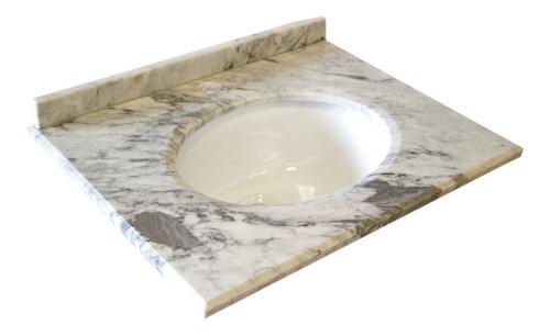 mueble de baño, vanitorio con  marmol medida 60 cm. b-60-phb