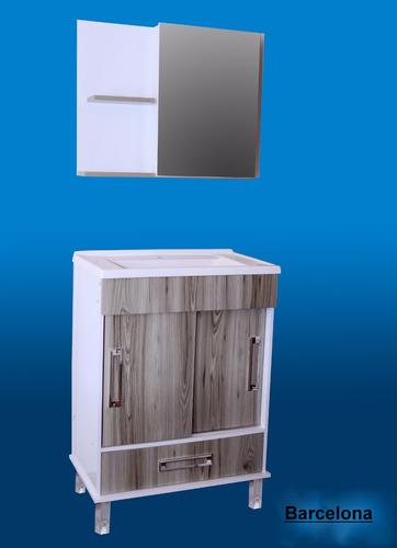 Mueble de ba pileta botiquin espejo p for Mueble botiquin