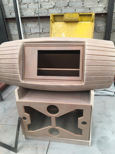 mueble de barril con base para rockola mdf 15mm