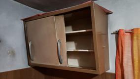 Mueble De Chapa Colgante De Cocina Antiguo Sin Óxido