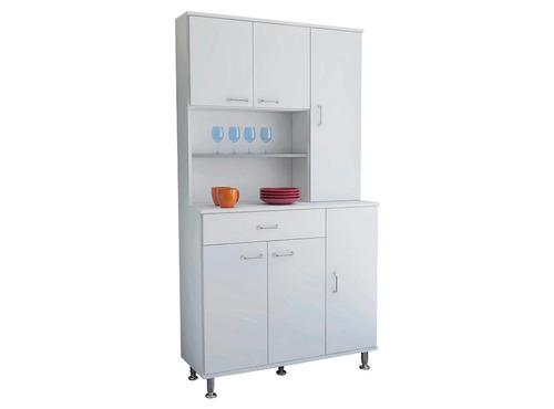 Mueble De Cocina 169x90x35cm Blanco (armado Y Envío Gratis)  $ 99