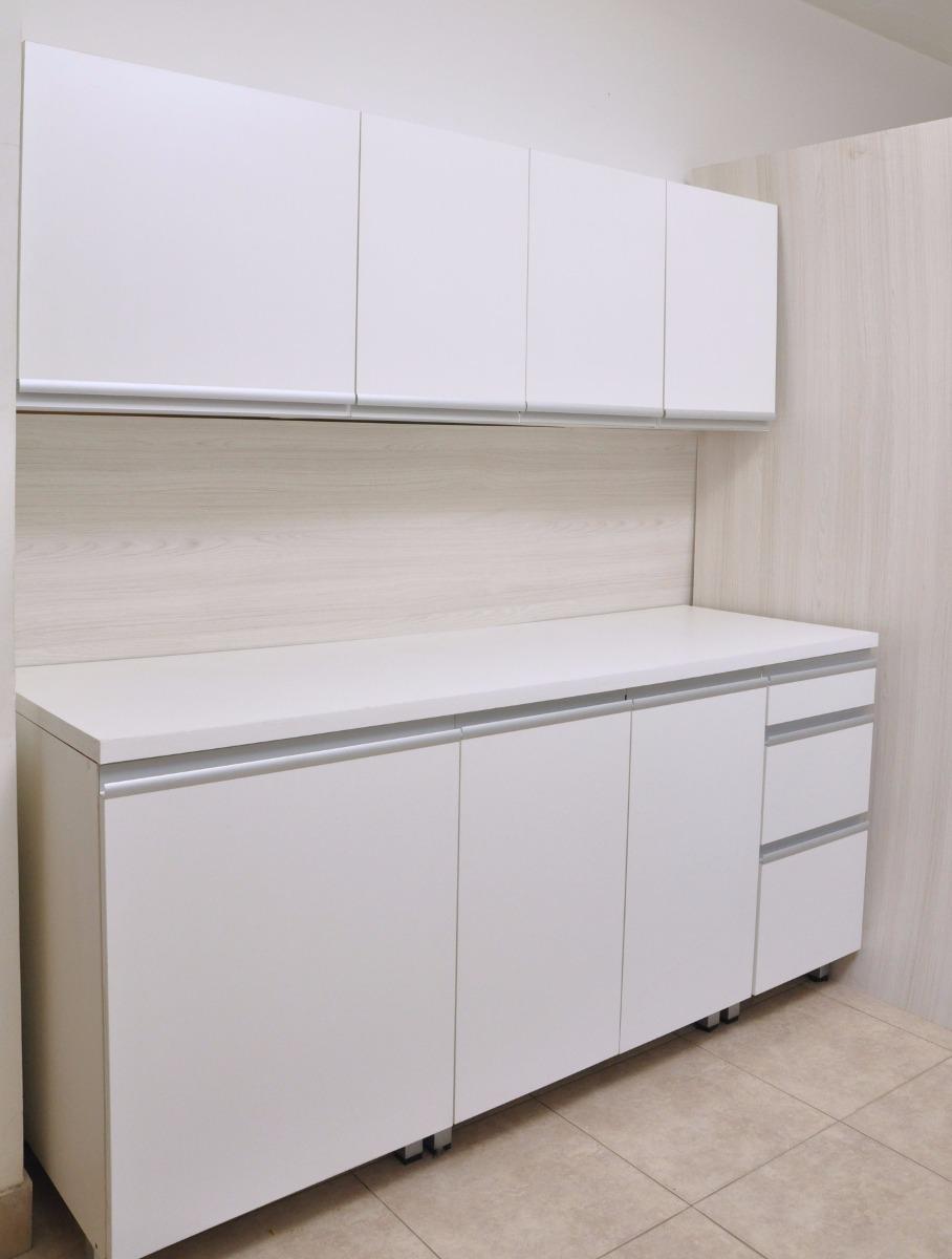Mueble De Cocina 1 80 Mts Manijas J Aluminio Bajo Mesada  # Muebles De Cocina Faplac