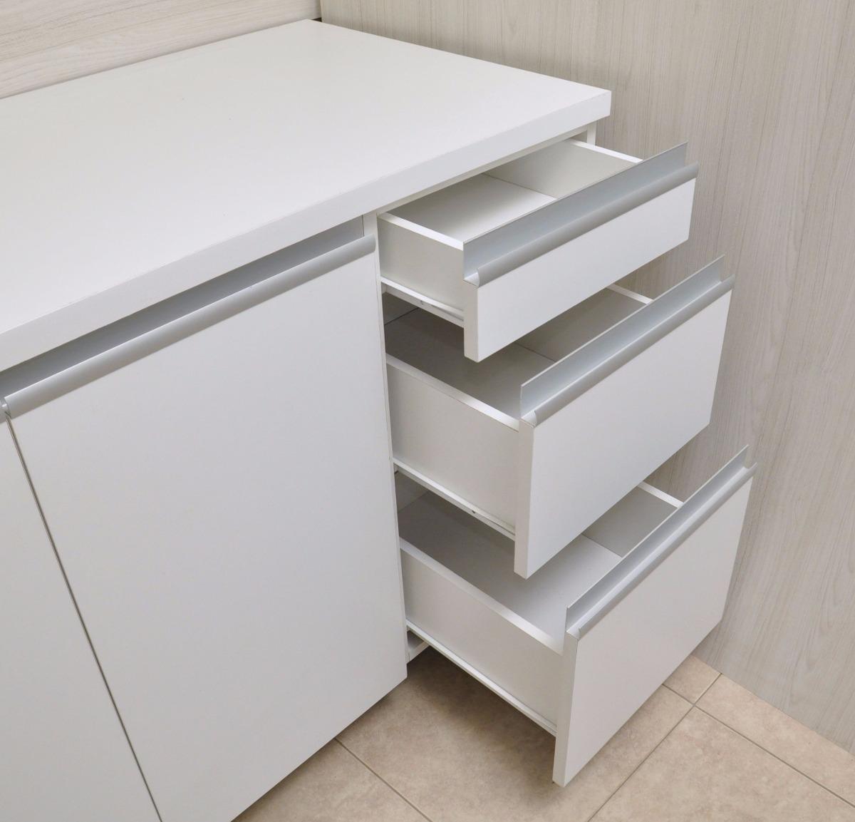 Mueble De Cocina 2 Mts Manijas J Aluminio Melamina - $ 15.821,00 en ...