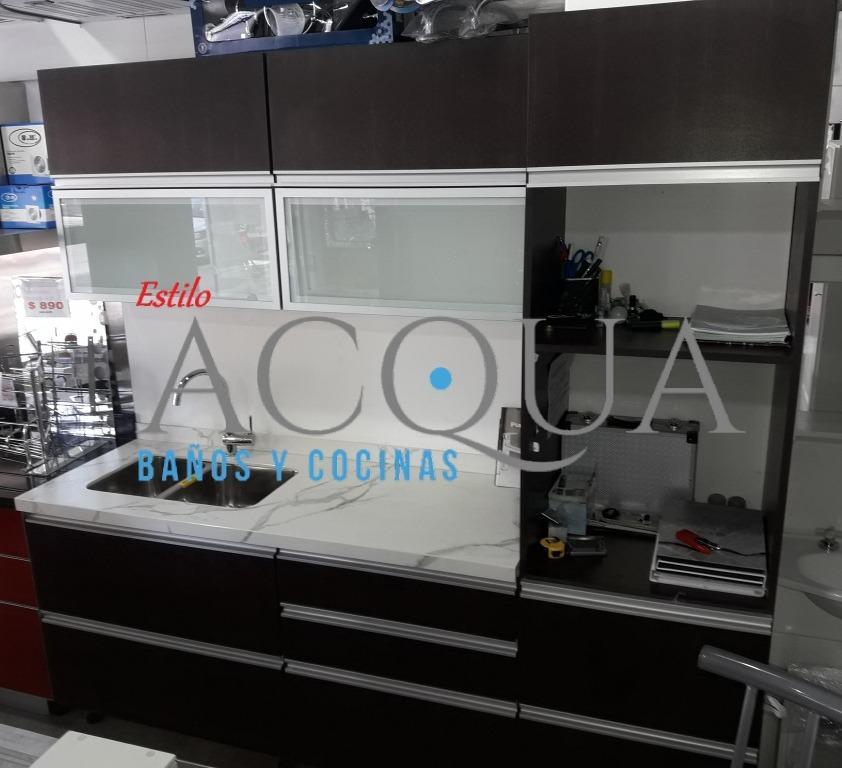 Mueble De Cocina 2.20 Mtr - Vendo Exposición Por Renovación - $ 84.900,00