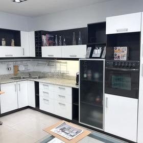 Mueble De Cocina 4mt - Frentes De Pvc - Placas Mdf - Blum