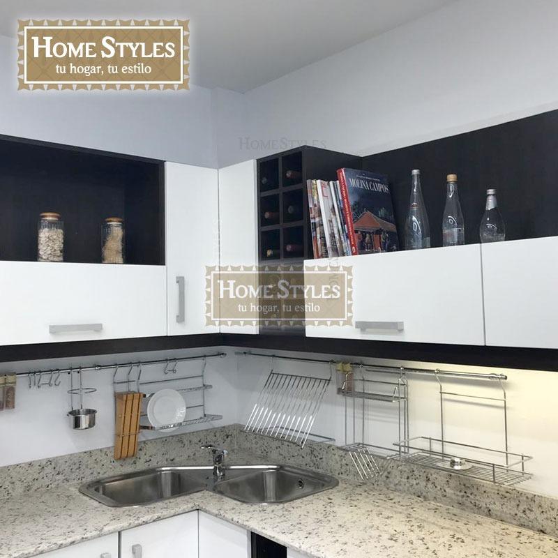 Mueble De Cocina 4mt - Frentes De Pvc - Placas Mdf - Blum - $ 80.000 ...