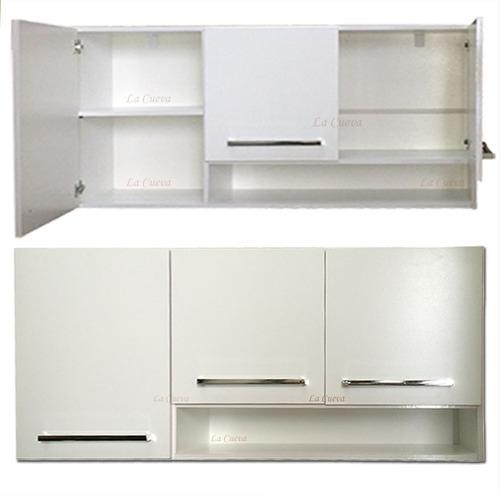 mueble de cocina - aereo premium - 3 puertas - alacena - lcm