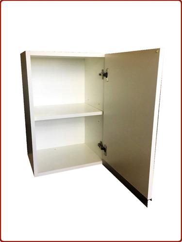 mueble de cocina alacena 40 cmts melamina blanca 18