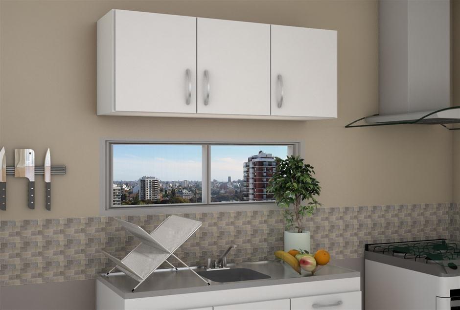 Mueble De Cocina Alacena De 1.20 En Color Blanco - $ 2.500,00 en ...