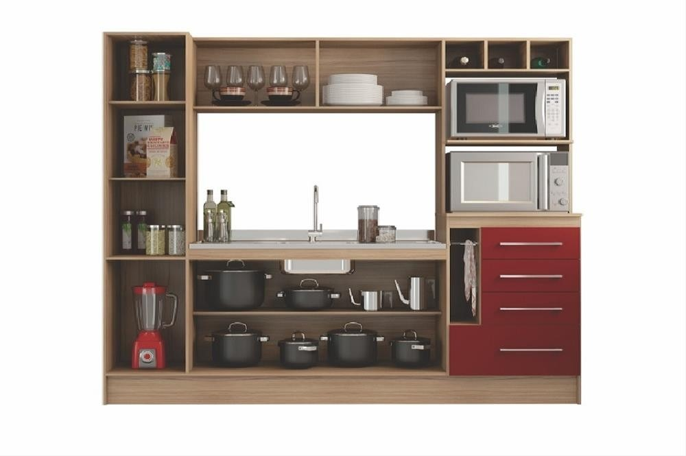 Mueble De Cocina Compacta Hannover - Kim Sensacion - $ 8.250,00 en ...