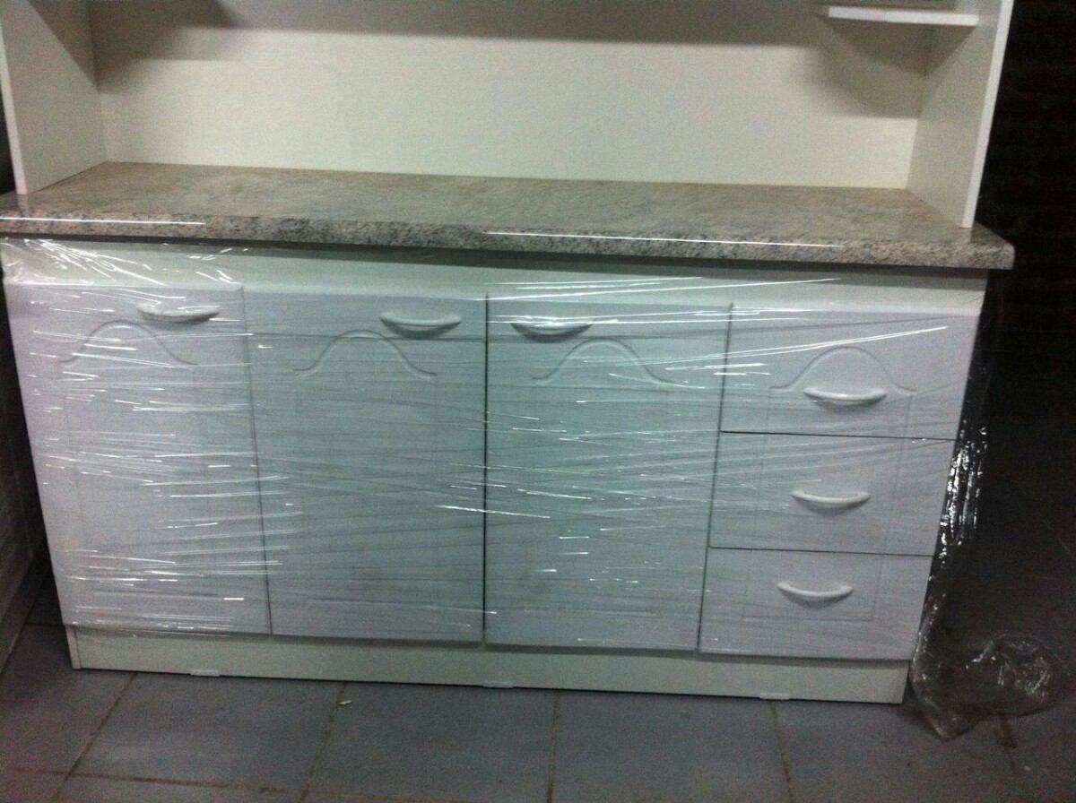 Mueble de cocina compacto 4 cuerpos espacio para - Mueble cocina microondas ...