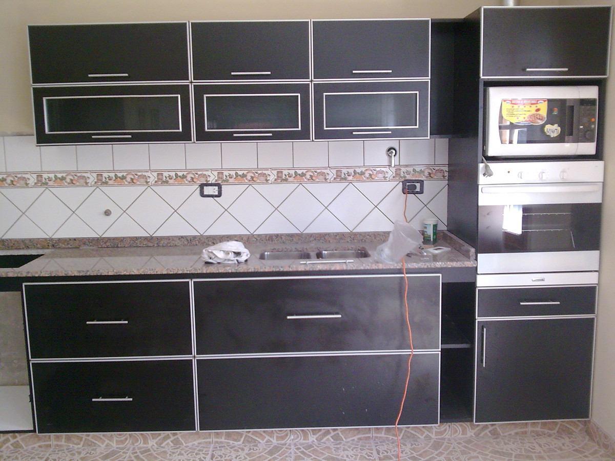 Mueble De Cocina Con Canto De Aluminio - $ 4.300,00 en Mercado Libre