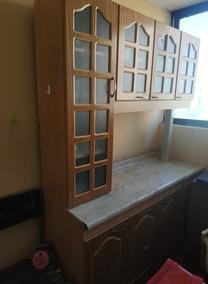 Mueble De Cocina Con Mueble Superior, Usado