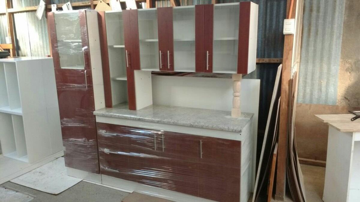 Mueble De Cocina Con Puertas Con Vidrio - $ 249.000 en Mercado Libre