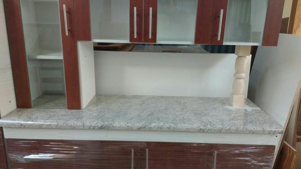 Mueble de cocina con puertas con vidrio en - Puertas mueble cocina ...