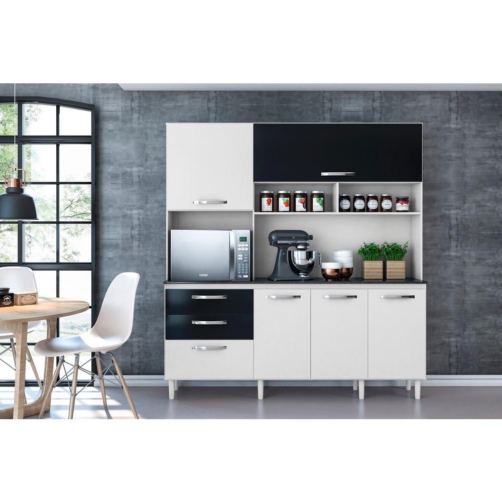 Mueble De Cocina Ebano 2018 Favatex Blanco (c/envío Stgo)