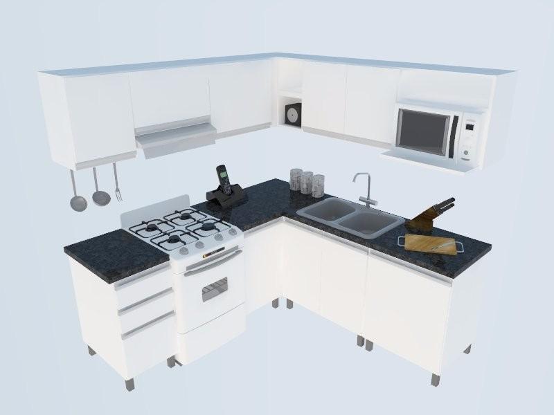 Best muebles de cocina en l images casas ideas for Muebles para cocina en l