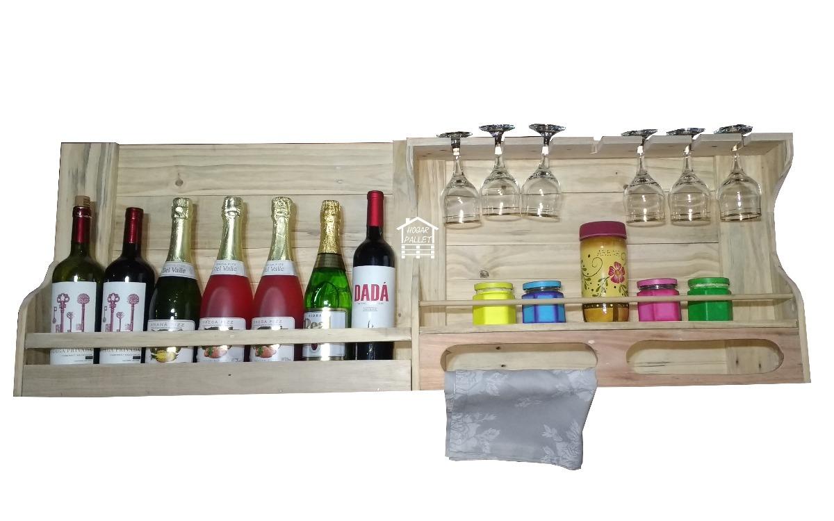 Mueble De Cocina En Madera De Palet (el Mejor Precio) - $ 1.750,00 ...