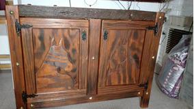 Mueble De Cocina En Madera Rustica