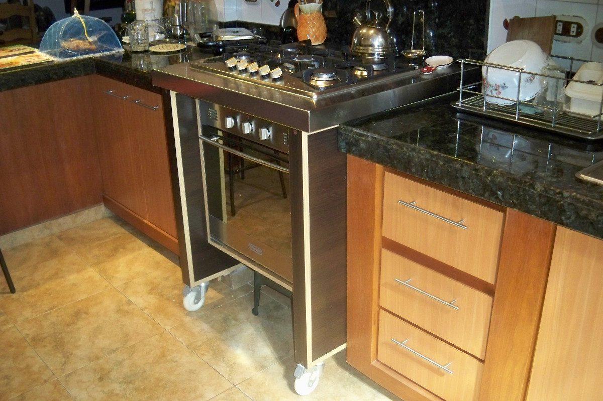 Mueble de cocina en melamina o cedrillo bs for Cocinas de mamposteria