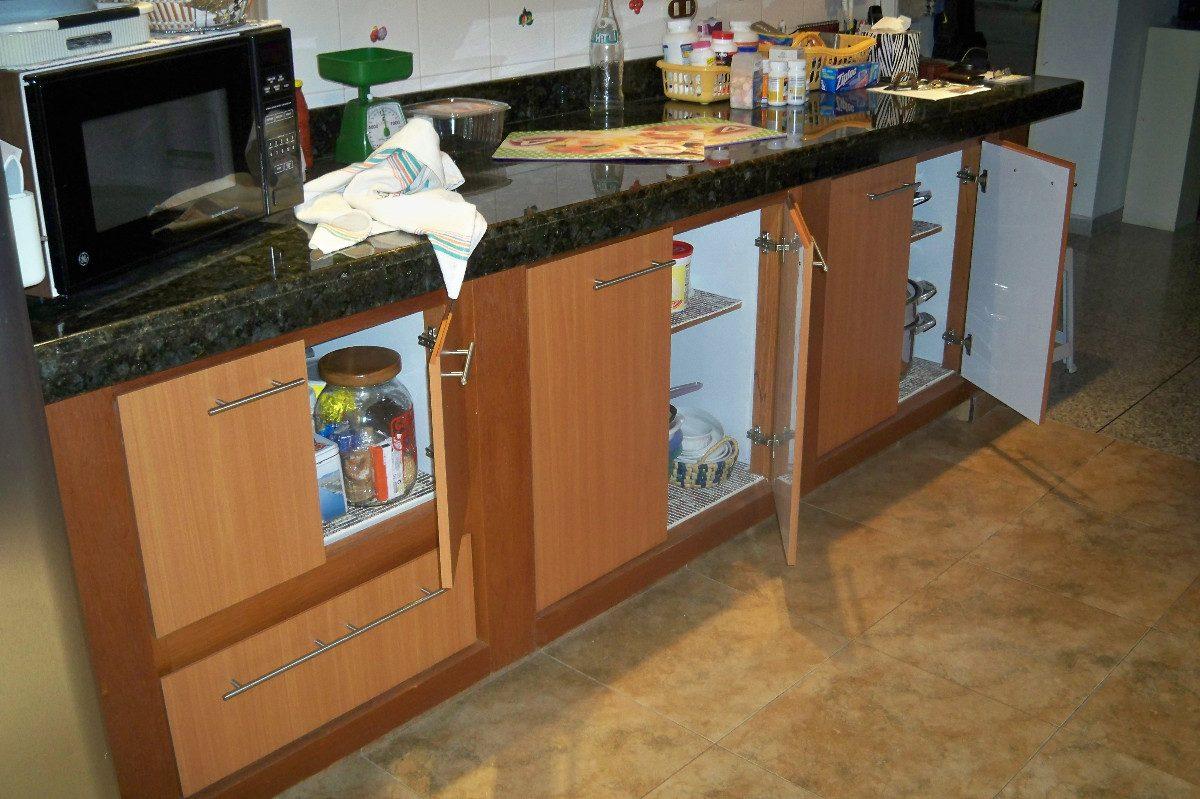 Mueble de cocina en melamina o cedrillo bs for Mueble de melamina