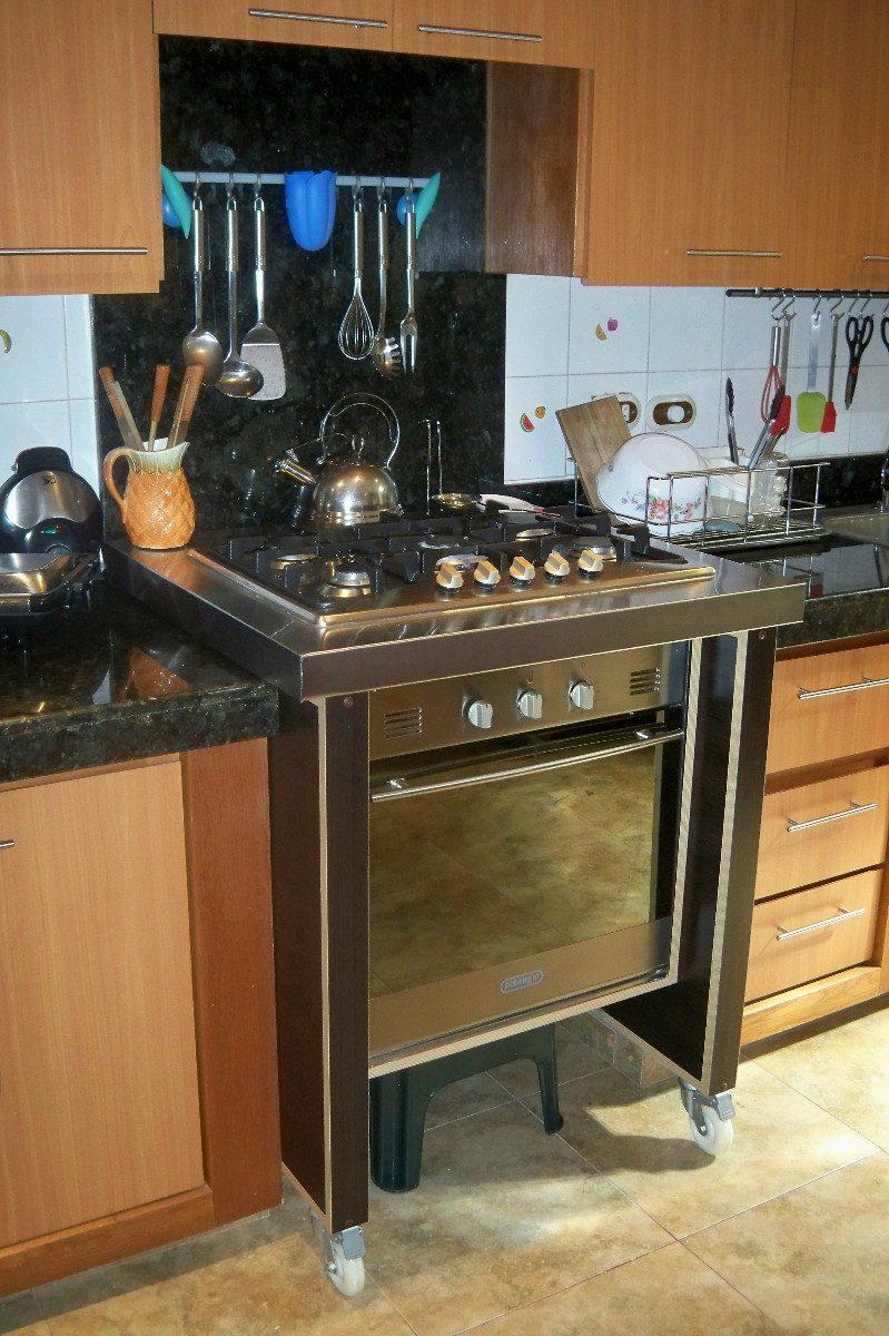Mueble De Cocina En Melamina O Cedrillo  Bs 220000,00 en Mercado