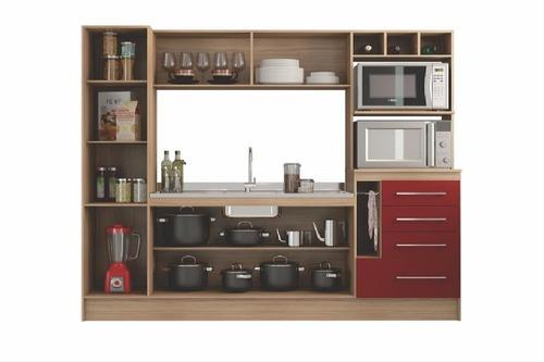 mueble de cocina hannover-kim con pileta incluida. sensacion