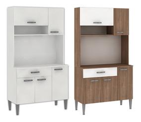 Mueble De Cocina Kit Armario 5 Puertas 1 Cajón Compramas