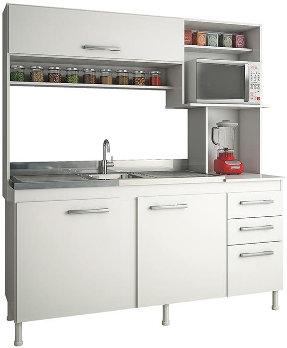 Mueble De Cocina Kit De Cocina Compacta Cocinas Divino - $ 3.543,00 ...
