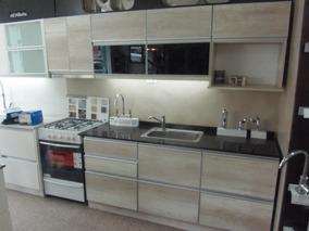 Mueble De Cocina Melamina 18mm + Canto Aluminio A Medida!!