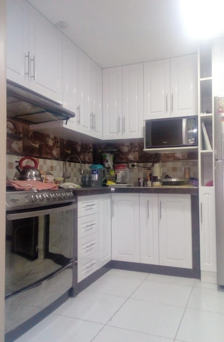 Mueble De Cocina Melamina Y Pintado / Metro Lineal - S/ 1,00 en ...