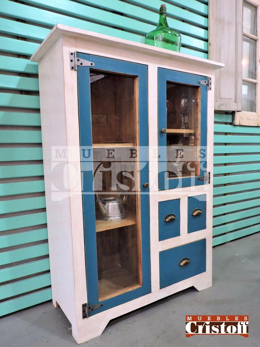 Mueble De Cocina. Modular. Cristalero. Retro-vintage !! - $ 6.590,00 ...