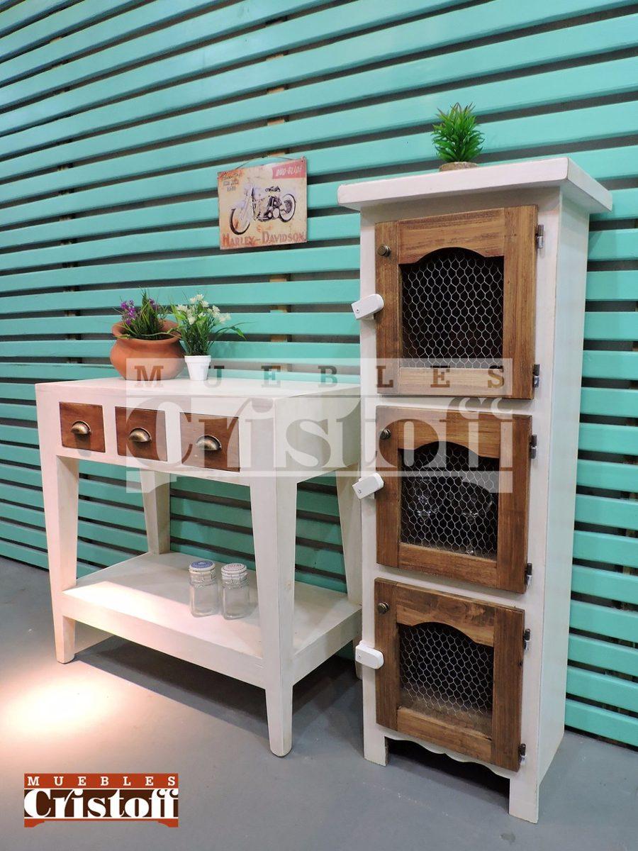 Mueble Cocina Retro. Elegant Mueble De Cocina Retro Vintage En Chapa ...