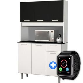 Mueble De Cocina Modular Kit 6 Puertas Estantes + Regalo