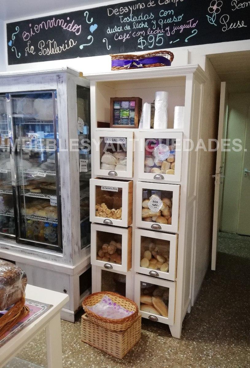 Mueble De Cocina Organizador Despensa Madera Blanco (al103m ...