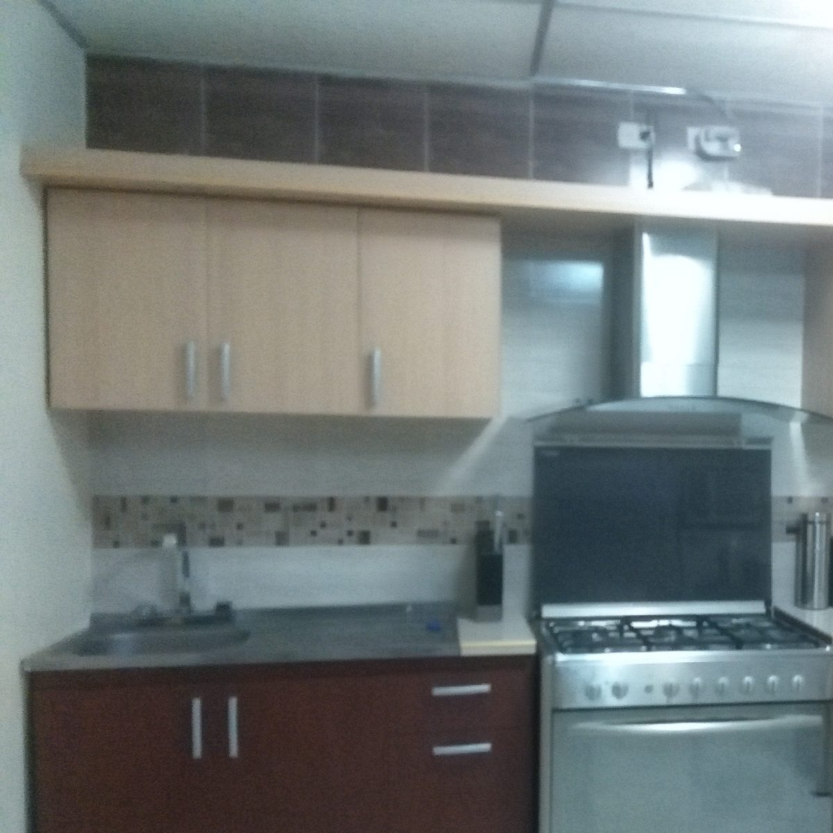 Mueble De Cocina Para Fregadero De Sobreponer De 120x50 - Bs. 74.900 ...