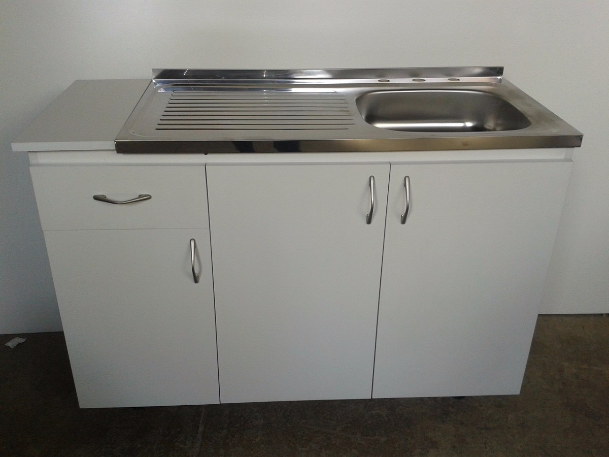 Mueble De Cocina Para Fregadero De Sobreponer De 120x50 - Bs. 561,80 ...