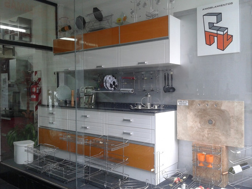 mueble de cocina practico y moderno 2,40mts amoblamientos fl