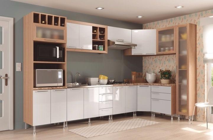 Muebles de cocina esquineros mueble de cocina en melamina for Muebles de cocina esquineros