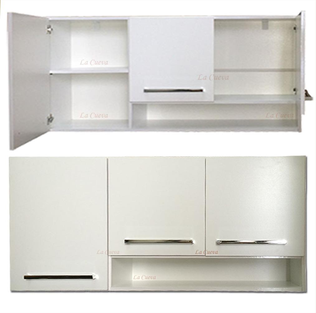 Mueble de cocina premium aereo 3 puertas alacena for Mueble alto de cocina esquinero