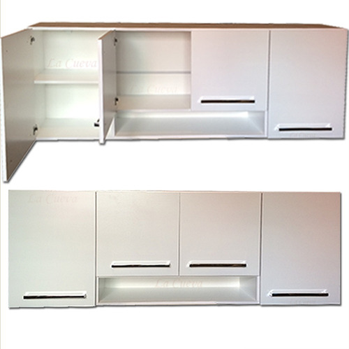 mueble de cocina premuim - aereo 4 puertas - alacena - lcm