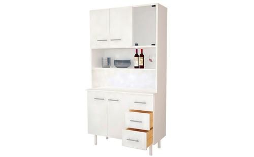 mueble de cocina triplo kit blanco mosconi aparador