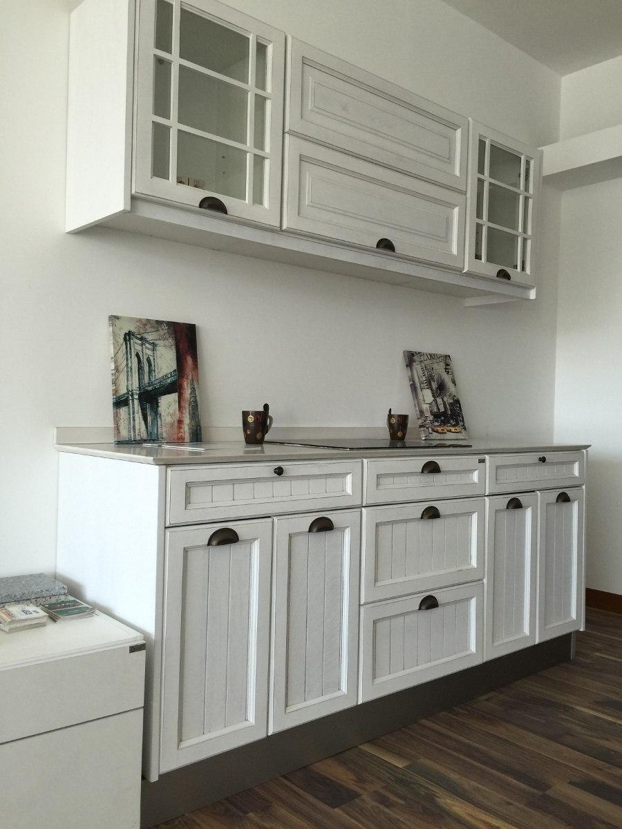 Mueble De Cocina Vintage 1,95 Mts. Con Mesada Silestone - $ 32.000 ...