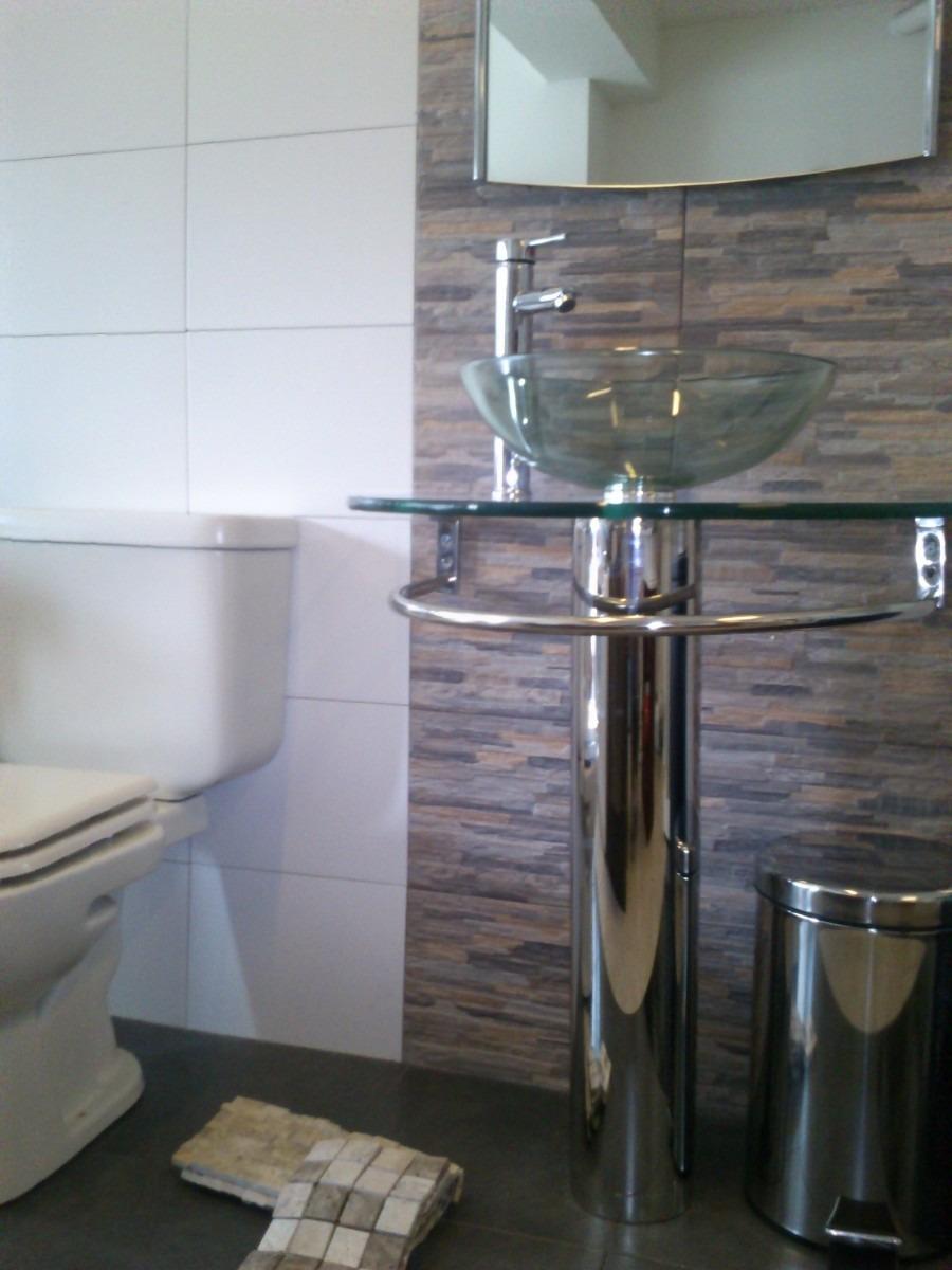 Mueble de cristal cromado para el ba o u s 170 00 en for Muebles bano montevideo