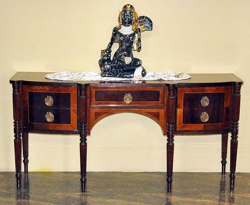 Mueble de entrada italiano de caoba estilo ingles bs for Muebles estilo italiano