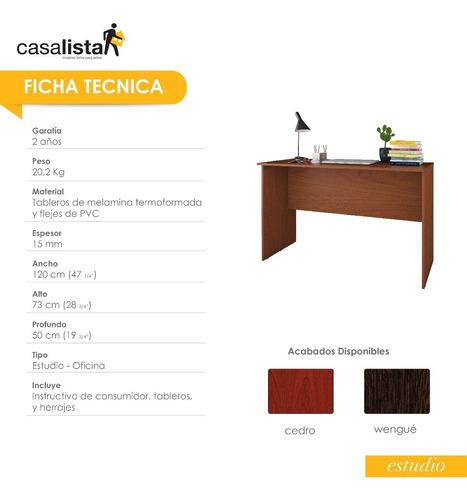 mueble de escritorio básico casa lista® estudio