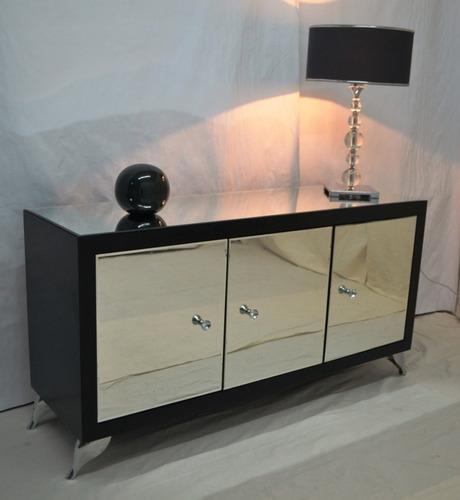 mueble de guardado espejado alba